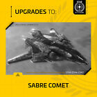 Star Citizen - UPGRADES to AEGIS SABRE COMET - CCU
