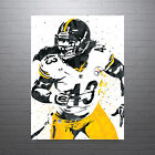 Troy Polamalu Pittsburgh Steelers Poster FREE US SHIPPING $14.99 USD on eBay