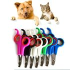 Pet Dog Cat Nail Grooming Clippers Scissors Puppy Kitten Bird Toe Claw Trimmer