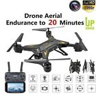 RC Drone Quadcopter With 5.0MP HD Camera WIFI 6-Axis Foldable Altitude Hold Kit