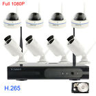 1080P 8 Channels Cameras 2.0MP For Home Security System wireless with Hard Drive
