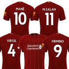 Внешний вид - Liverpool FC 2019/2020 Men's Home Jersey Football Soccer Adult Short Sleeve Top