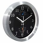 Modern Silent Wall Clock Non Ticking 10 inch Excellent Accurate Sweep Movement