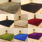3CM THICK NEW MODERN MULTI COLOR SHAGGY SPARKLE SHINY SHIMMER CLEARANCE RUG
