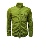 Baracuta Overshirt Garment Dyed Jacket Leaf Green