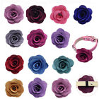 Pet Dog Cat Collar Accessories Dog Rose Flower Charms for Party Wedding Holiday