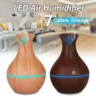 Indispensable Oil Aroma Diffuser Aromatherapy LED Ultrasonic Humidifier Air Purifier