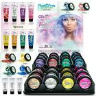 Chunky Festival Glitter Jewels Fixing Gel Glue Body Face Hair Jewels Tattoos