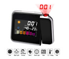 LCD projection alarm clock, multi-function weather digital alarm clock