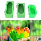 Water Cage Bird Bowl Parrot Bird S/M/L Pigeons Plastic Eatting Feeding Feeder