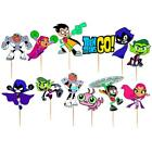 TEEN TITANS CUPCAKE TOPPER TOPPERS TOY CAKE PARTY BALLOON DECORATION SUPPLIES