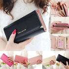 Women Lady Long Leather Wallet Cute Coin Purse Multi Card Holder Phone Handbag image