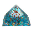 Natural Opal Orgone Pyramid Orgonite Healing Quartz Crystal Gemstones Stones