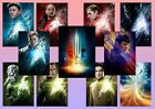 Star Trek Beyond: Kirk, Spock, Uhura, Sulu   A5 A4 A3 Character Movie Posters on eBay
