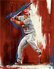 166822 Mike Trout KE Los Angeles Angels Top Player Wall Poster Print CA on Ebay