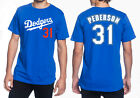 Joc Pederson Los Angeles Dodgers #31 MLB Jersey Style Men's Graphic T on Ebay