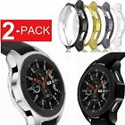 2 Pack Samsung Galaxy Watch Case 42mm 46mm Soft TPU Protective Case Cover Frame  image