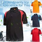 Sport Polo Shirt Mens Tee Top Short Sleeve Designer T Shirt Golf Plain New image