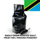 2, 5,10 lb Tanzania Peaberry Coffee Roasted Fresh Daily in USA !