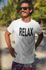 MENS RETRO 80S RELAX T SHIRT VINTAGE CLASSIC STYLE  image