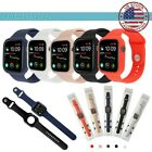 40/44mm Silicone Waterproof iWatch Band Strap Case Cover for Apple Watch 4 3 2 1 image