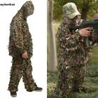 2 Pieces Ghillie Suit Woolland 3D Leaves Camo Camouflage Forest Hunting M0DC 02