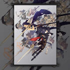 Fire Emblem Kakusei Anime HD Print Wall Poster Scroll Home Decor