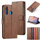 Leather Bookm Case For Huawei P9 Lite P10 Mate 10 Card Slot Flip Wallet Cover UK