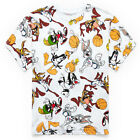 Looney Tunes Space Jam All Over Print T-Shirt