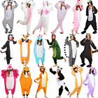 Unisex Adult Pajamas Kigurumi Cosplay Costume Animal Sleepwear Suit