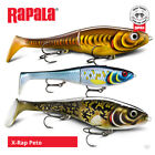 Rapala X-Rap Peto Lures - Pike Muskie Zander Catfish Predator Fishing Tackle