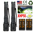 Kyпить XHP50 90000LM Tactical Zoomable SWAT 18650 LED Flashlight Torch light US Stock на еВаy.соm