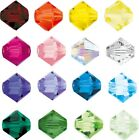 Genuine Preciosa Crystal Rondell Bicone Beads Jewellery Beads All Colors & Sizes