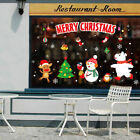 Christmas  Home Decoration Festival Mural Wall Stickers Window Decals Wall Art