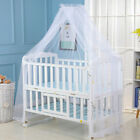 Summer Kid Baby Bed Mosquito Foldable Curtain Net for Toddler Crib Cot Canopy US