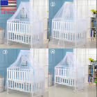Summer Kid Baby Bed Mosquito Foldable Curtain Net for Toddler Crib Cot Canopy US image