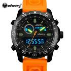 INFANTRY Military Watch Men Digital LED Wristwatch Mens Watches Top Brand Army T image