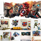 3d Superheroes Avengers Art Wall Decals Vinyl Stickers Home Living Room Decors