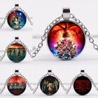 Stranger Things 3 Costume Jewelry Metal Chain Charm Pendant Necklace Neck Collar