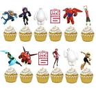 BAYMAX BIG HERO 6 CUP PLATE NAPKIN TABLE COVER party balloon decoration banner