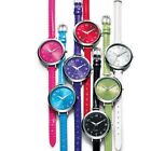 Avon Color Brights Strap Watch in Red