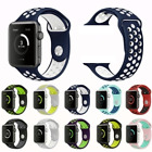 Silicone Band Strap For Apple Watch iWatch Sports Series 1/2/3/4 38 42 40mm 44mm image
