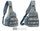 Mens Tactical Sling Bag Military Chest Shoulder Molle Daypack Backpack Trekking
