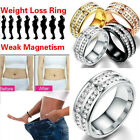 Health Care Weight Loss Fat Burning Slimming Rhinestone New Magnetic Ring B N9Q7 $1.85 CAD on eBay