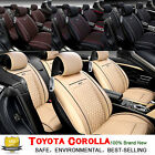 3D Surrounded Car Seat Cover Full Set Chair Cushion For Toyota Corolla Safety SH on eBay