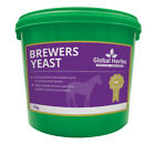Global Herbs Brewers Yeast 1KG Horse Pony Equine Care Feed Supplement Probiotic