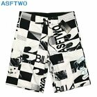 Mens Summer Loose Beach Surf  Board Shorts Sport Swim Wear Trunks Pants Swimsuit <br/> ✅Size 30-38  ✅ Upgraded Quick Dry   ✅ Magic Poster FLY