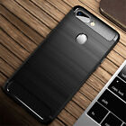 For Red OPPO R17 R15 Pro A73 Nice TPU Case Shockproof Hybrid Soft Rubber Cover