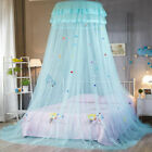 Bed Princess Mosquito Net Child Canopy Lace Dome Tent Bedding Netting Mesh Round image