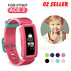 Replacement Silicone Band Strap Bracelet Wristband For Fitbit Ace 2 Kids Sport